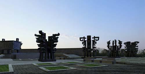 江苏鼎盛文化雕塑广场设计在全国劲标中中标